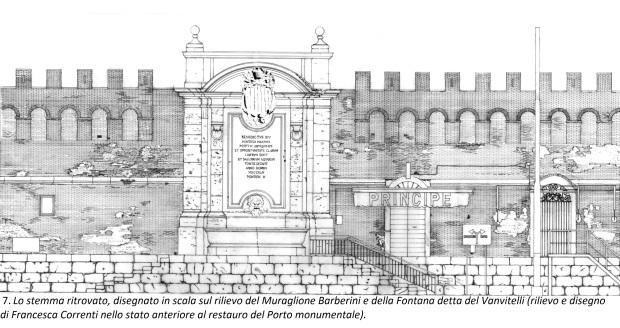 7. 1996-97. Stralcio rilievo Francesca con stemma bis