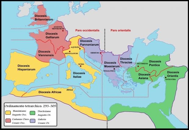 Fig 1 COPERTINA Prima_tetrarchia_Diocletianus