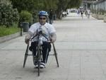 vivicittà - 1° arrivato disabili elisabetta messina