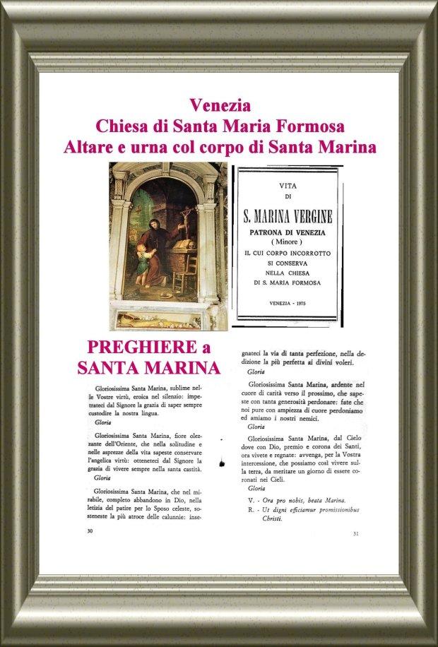 5 Preghiera a S Marina Venezia cornice
