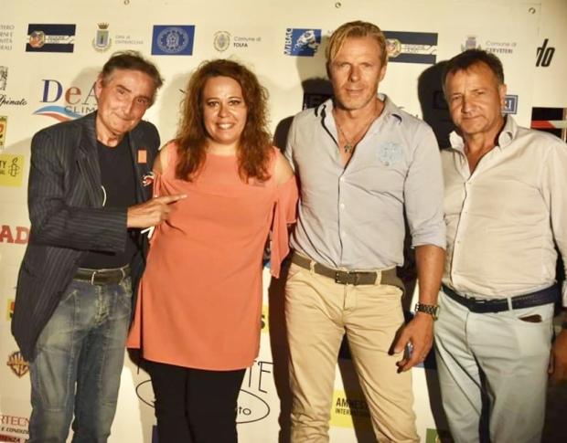 piero pacchiarotti Sonia Signoracci e Agostino De Angelis con Kaspar Capparoni