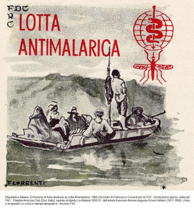 4 1961. FDC Malaria