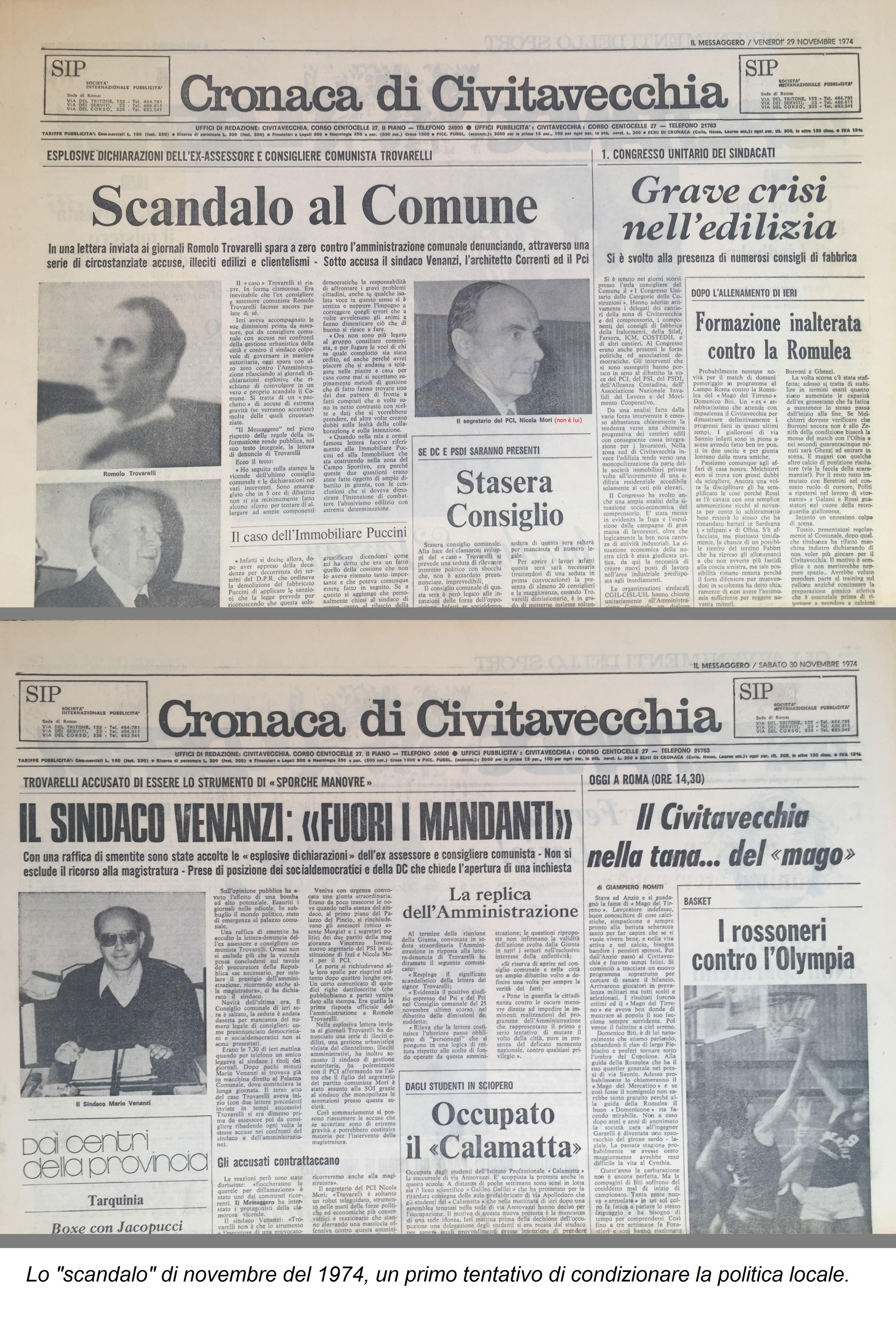 1974.11.29. Scandalo in Comune