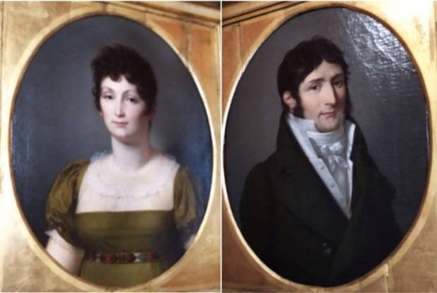 Alexandrine e Luciano